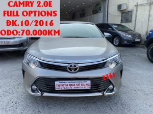 Camry 2.0E , Full Options,ĐK.10/2016,ID:2361