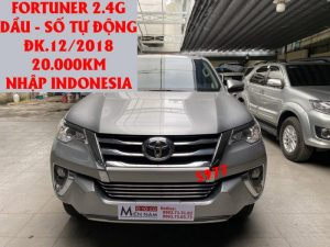 Fortuner 2.4G , Indonesia ,ĐK.12/2018,ID:5977
